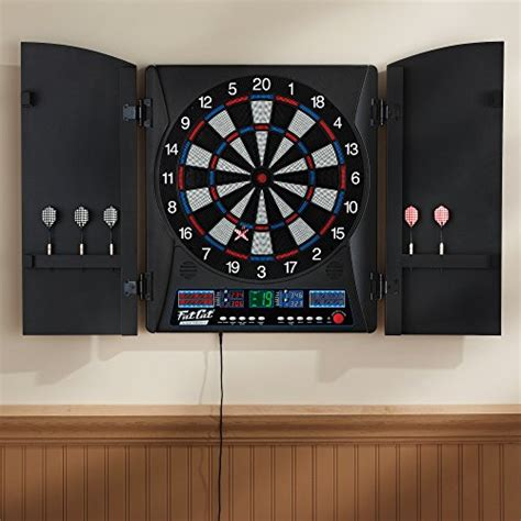 Outdoor Dart Cabinet by Cat Electronx Electronic Soft Tip Dartboard With