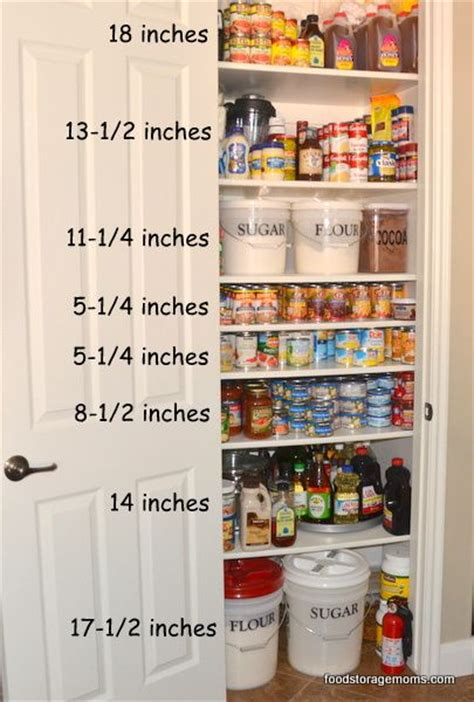 25 best ideas about food storage rooms on