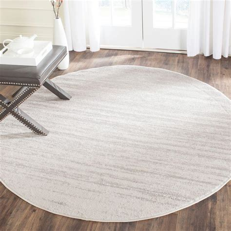 8 ft area rugs safavieh adirondack ivory silver 8 ft x 8 ft area