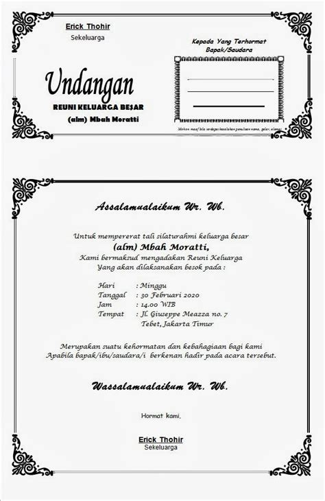 Tas Undangan Pernikahan Murah 3 contoh undangan tasyakuran khitanan bahasa jawa harga undangan tas kipas unik murah bekasi