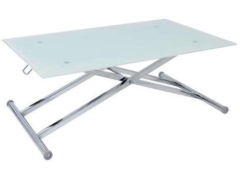 table basse relevable pas cher conforama