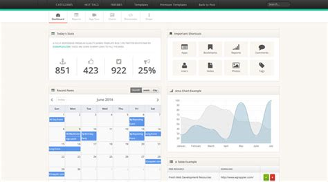 bootstrap themes pdf free bootstrap admin themes and templates to download