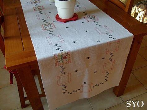 punto croce tovaglie da tavola motivi a punto croce per corsia da tavolo arte ricamo