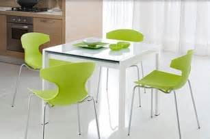 Green Kitchen Table Stunning Kitchen Tables And Chairs For The Modern Home