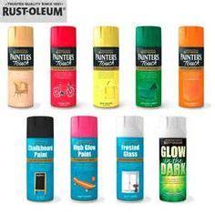 rustoleum s glow in the paint uk rust oleum s glow in the spray paint can be sprayed