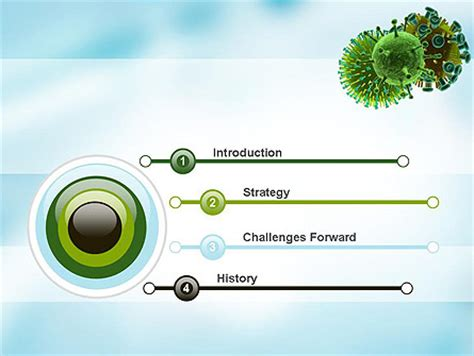 virus powerpoint template hiv virus powerpoint template backgrounds 11023