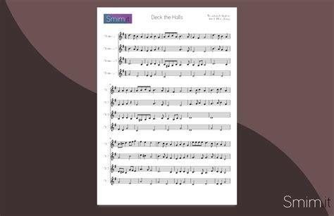 il clarinetto testo deck the halls spartito per ensemble di clarinetti