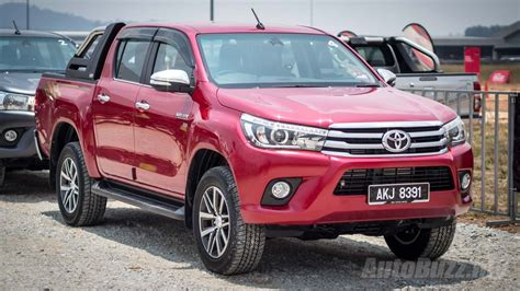 Toyota My 2016 Toyota Hilux Launched In Malaysia Priced From Rm90k