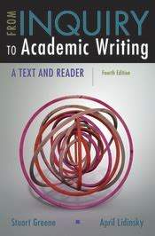 from inquiry to academic writing a text and reader books macmillan learning englishcross curricular