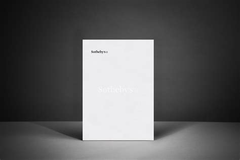 Blind Embossed Stationery Sotheby S Letterhead With Watermark Downey
