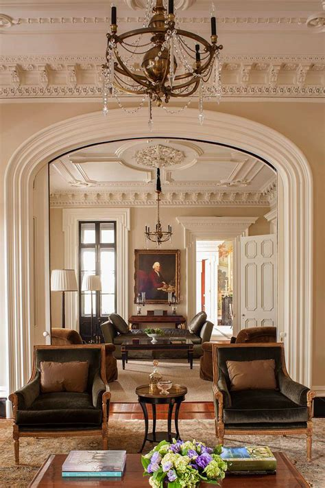 Charleston Interior Designers by Southern Classic Historic Charleston Mansion Dk Decor