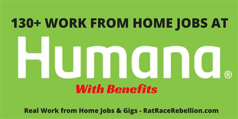 work from home at humana open now with benefits