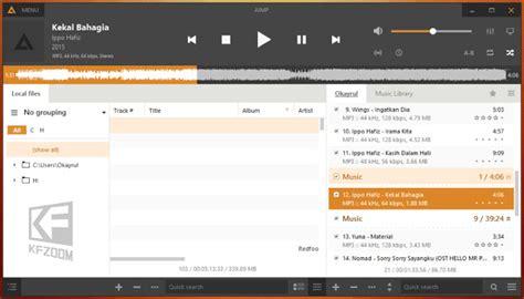 urutan format audio terbaik aimp 4 alternatif terbaik untuk win kfzoom