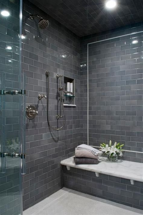 modern tiled bathrooms best 20 gray shower tile ideas on large tile