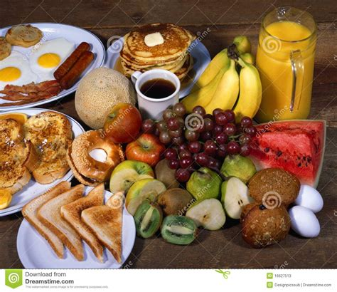 Fresh Homes breakfast foods stock photos image 16627513