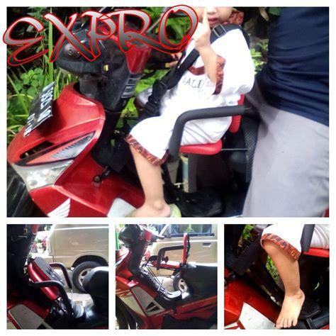 Jual Kursi Bonceng Anak Di Bandung jual kursi jok bonceng boncengan anak depan motor matic nindy shop