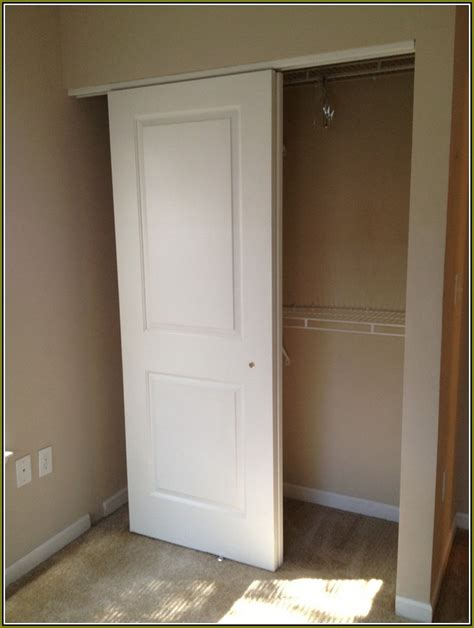 Organizing A Closet With Sliding Doors organizing a small closet with sliding doors home design ideas