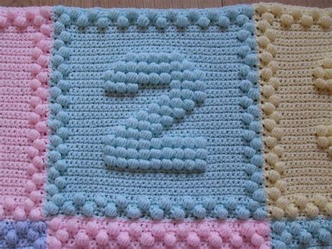 Number Of Blankets For Baby by Numbers Baby Blanket