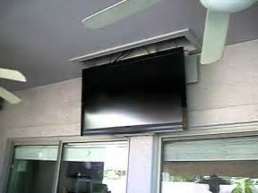 ceiling mounted tv 4 of 4