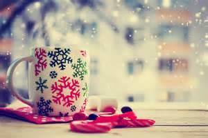 Christmas wallpaper holidays christmas cup tea winter
