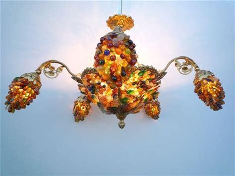 lustre couleur lustre en verre lustre de salon lustre cristal deco