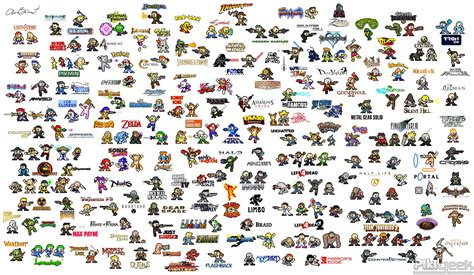 Kaos 3d Square Ff7 Poster2 White characters as mega sprites gaming