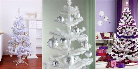 c 243 mo decorar 225 rboles de navidad blancos