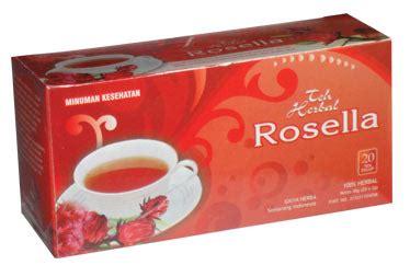 Teh Herbal Rosella Merah betakarotin obat herbal berkhasiat untuk sehat