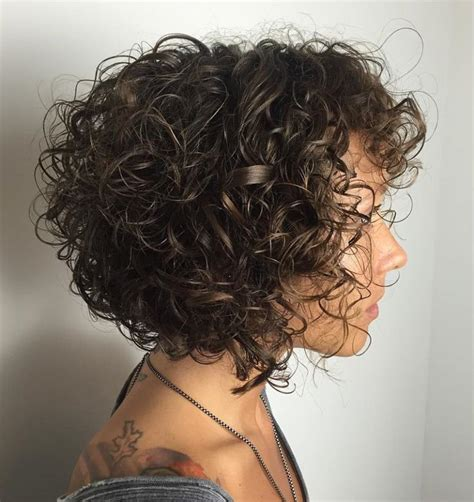 angled bob for curly hair 25 best ideas about curly bob haircuts on pinterest