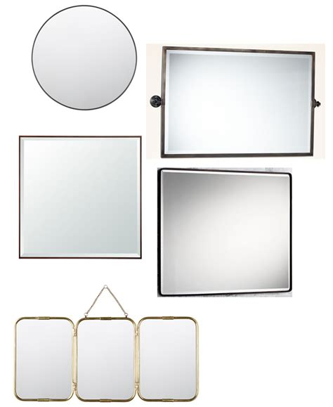 wide bathroom mirrors 20 large and unique vanity mirrors table and hearth