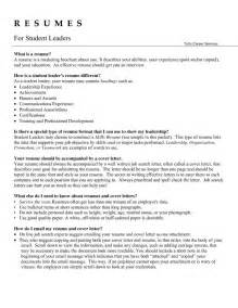 Collections Team Leader Sle Resume by Leadership Resume Exles Getessay Biz