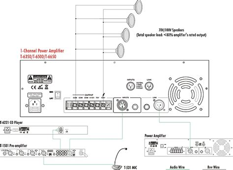 70 volt speaker system wiring diagram efcaviation
