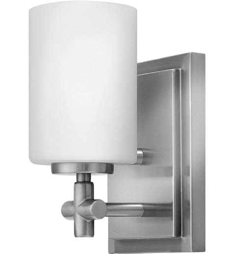 Hinkley Vanity Light Hinkley Lighting Laurel 1 Light Bath Vanity Light