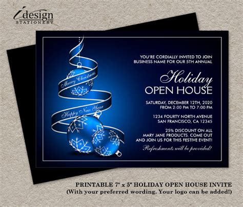 business open house invitation templates free 22 open house invitation templates free sle exle