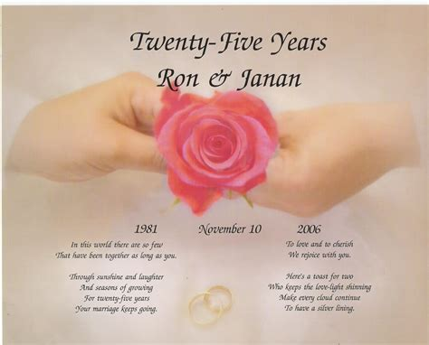BEST QUOTES FOR SILVER WEDDING ANNIVERSARY image quotes at