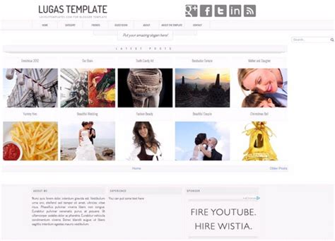 blogger photography templates latest photography blogger templates 2016 free
