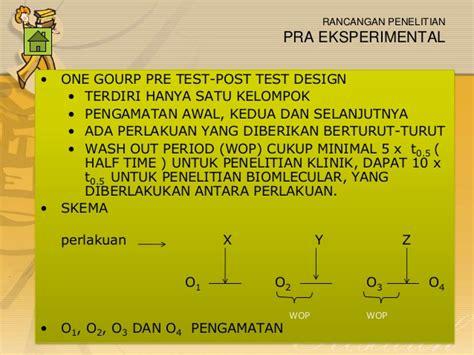 design eksperimental adalah rancangan penelitian research design