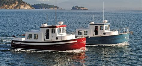 trailer trawler boats trawlers and semi displacement boats boatus magazine