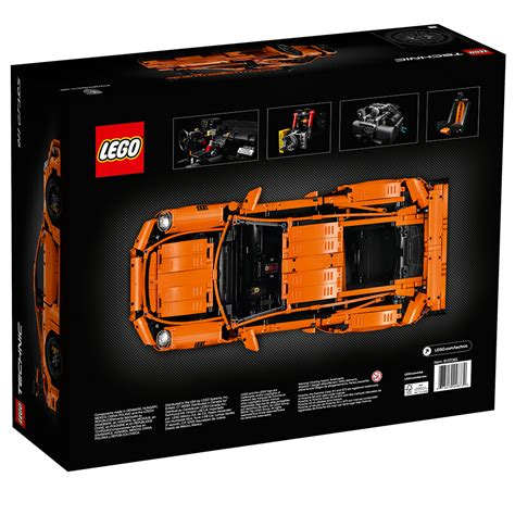 lego porsche lego technic porsche 911 gt3 rs the awesomer