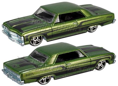 Hotwheels Wheels 65 Chevy Malibu Th Reguler 12 treasure hunt 2012 wheels