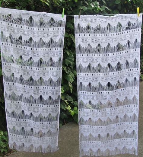 lace cafe curtains by the yard cotton lace curtains by the yard home design ideas
