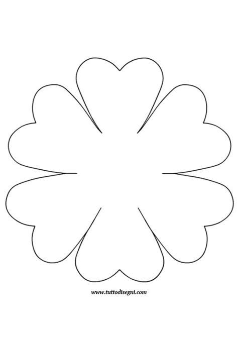 sagome fiori di carta sagoma fiore progetti da provare fiore