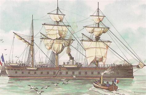 quien creo el barco a vapor el primer barco acorazado de la historia