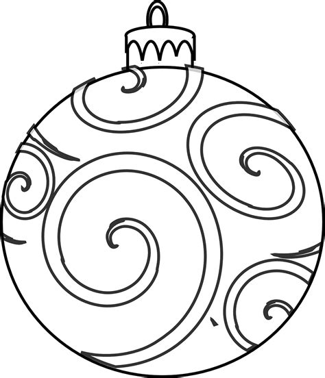 Colour And Design Your Own Christmas Ornaments Printables Free Printable Coloring Pages Ornaments