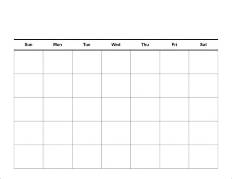 schedule templates for pages printable blank calendar template pdf