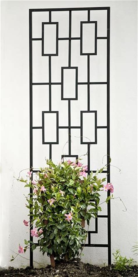 Black Metal Garden Trellis Pin By On Diy Outdoor Projects