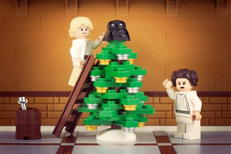 christmas at the skywalkers lego style technabob