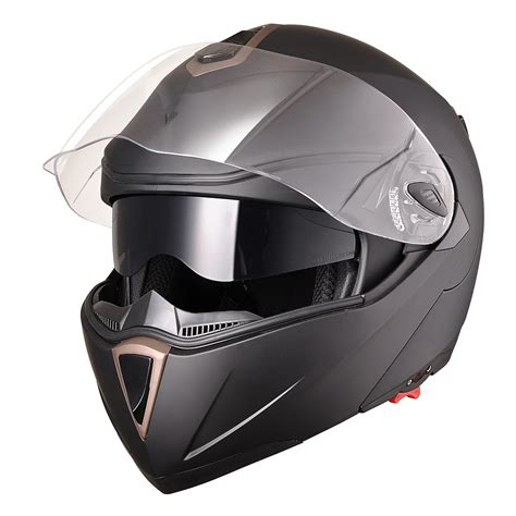 motocross helmets with visor dot full face flip up motorcycle helmet dual visor bike