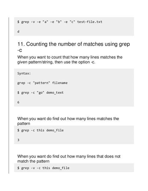 grep pattern numbers 15 practical grep command exles in linux