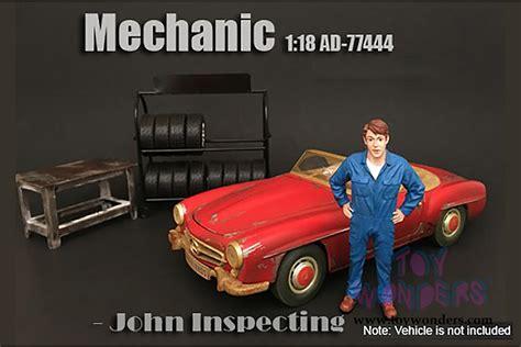 American Diorama 118 Mechanic american diorama figurine mechanic inspecting 1 18